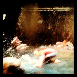 Flow, a performance about water at The Print Room, Notting Hill.